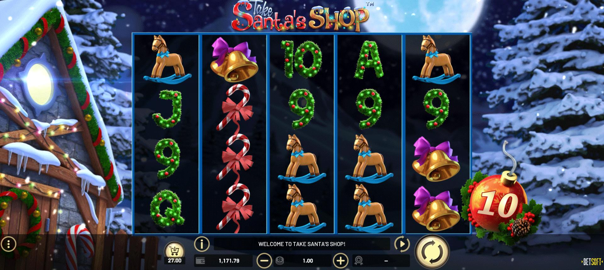 Slot Take Santa's Shop