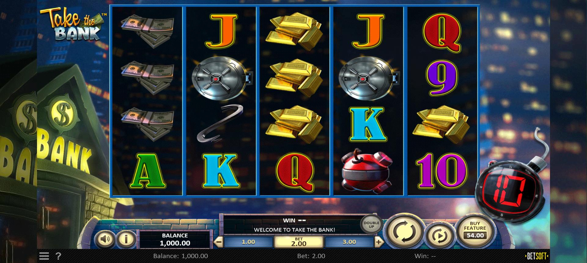 Slot Take the Bank