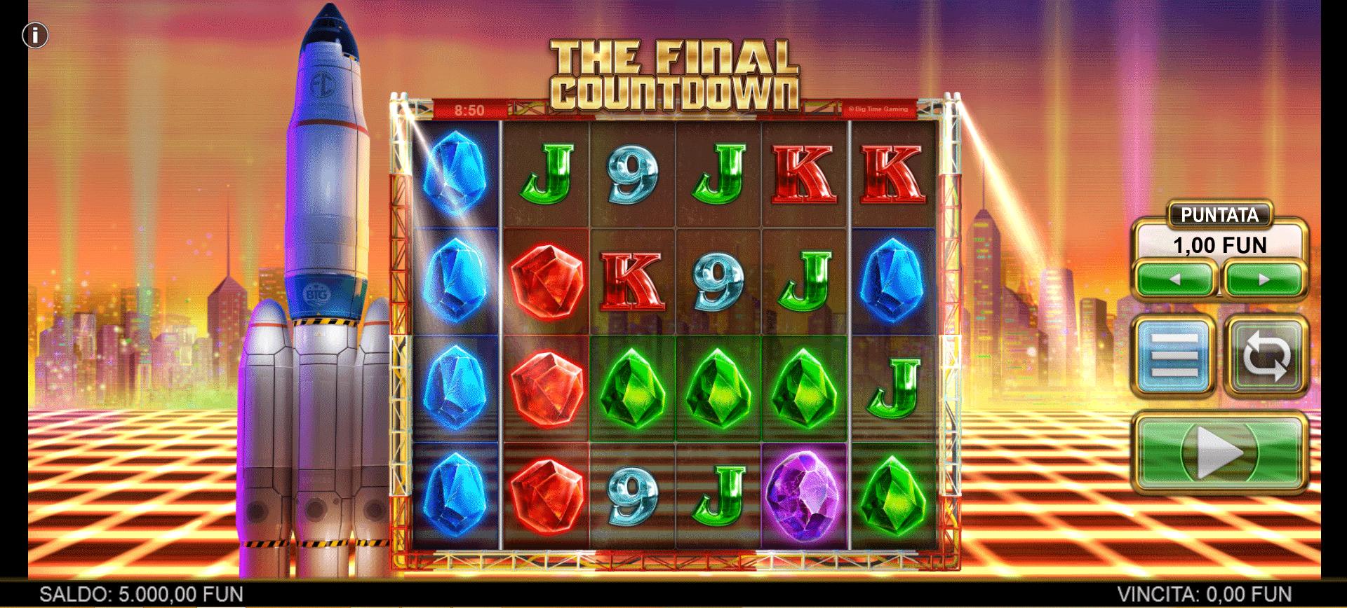 Slot The Final Countdown