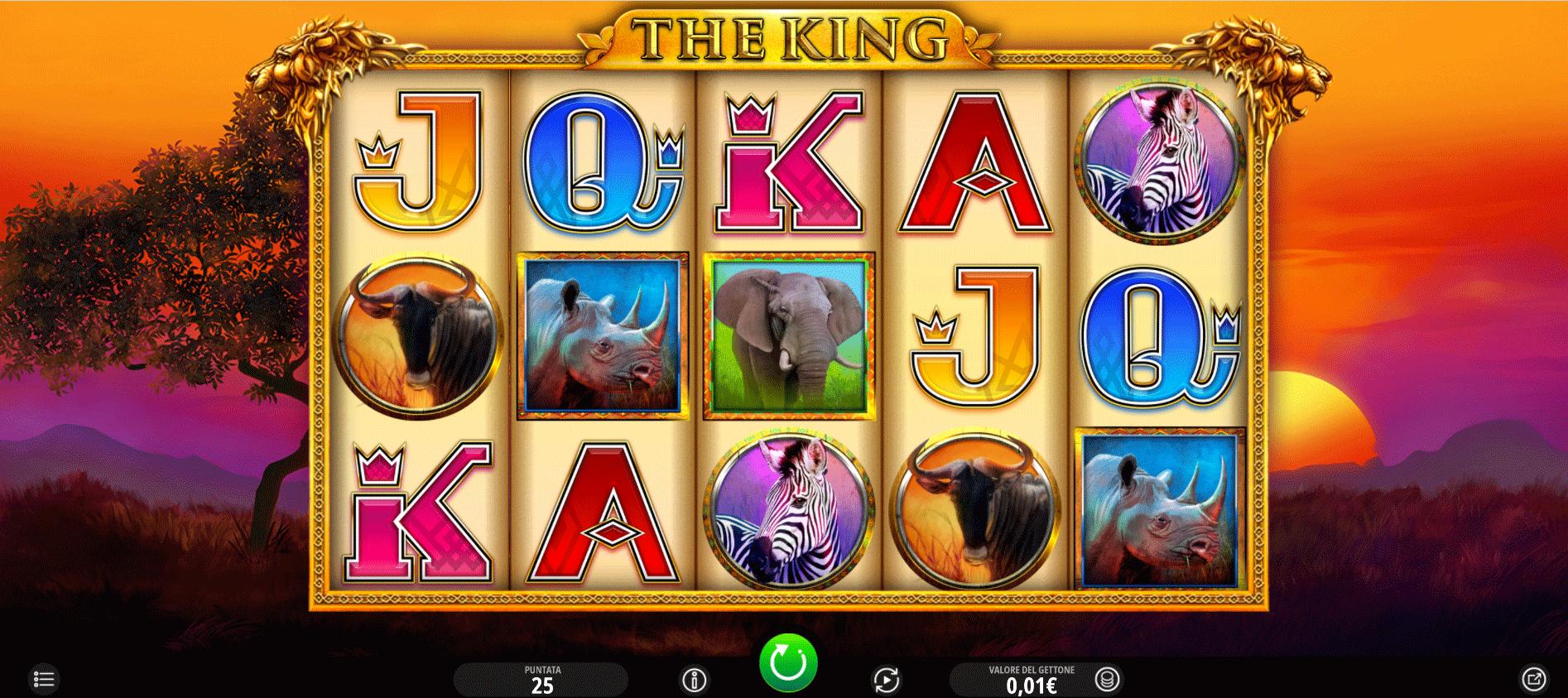 Slot The King