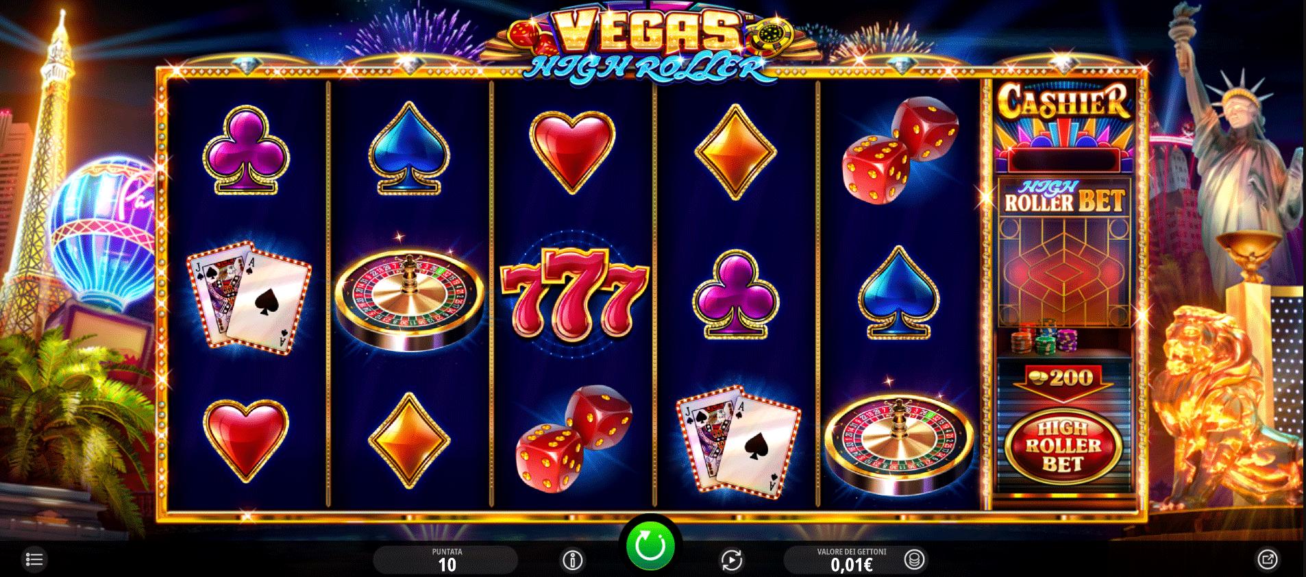 Slot Vegas High Roller