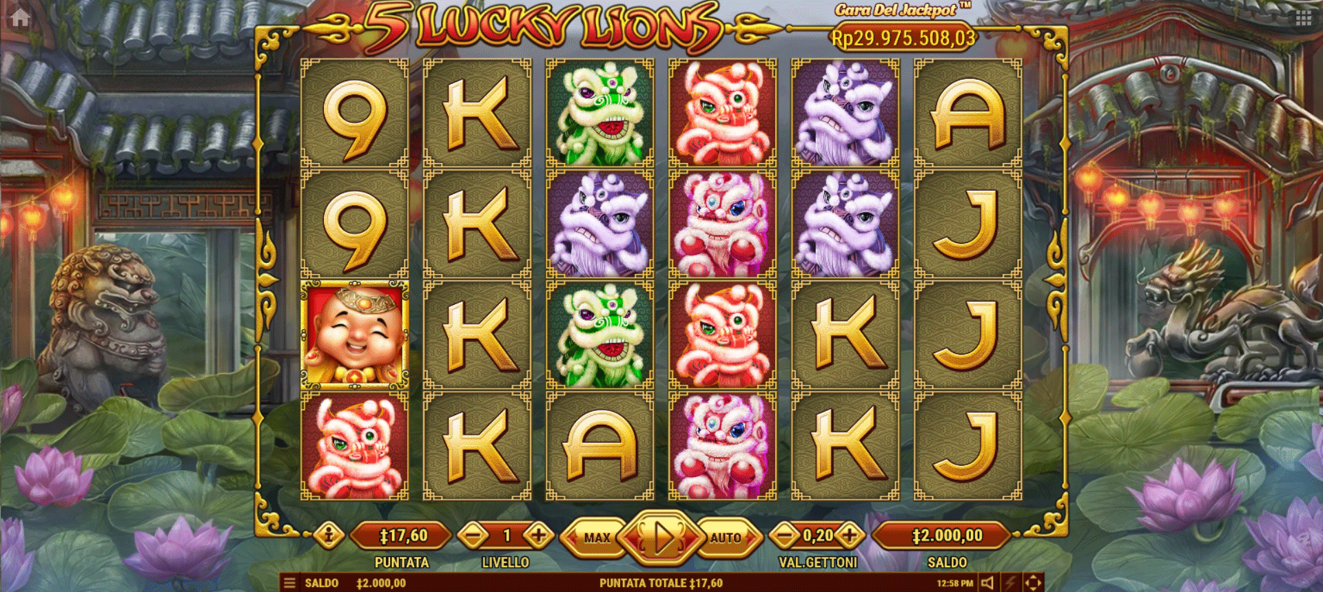 Slot 5 Lucky Lions