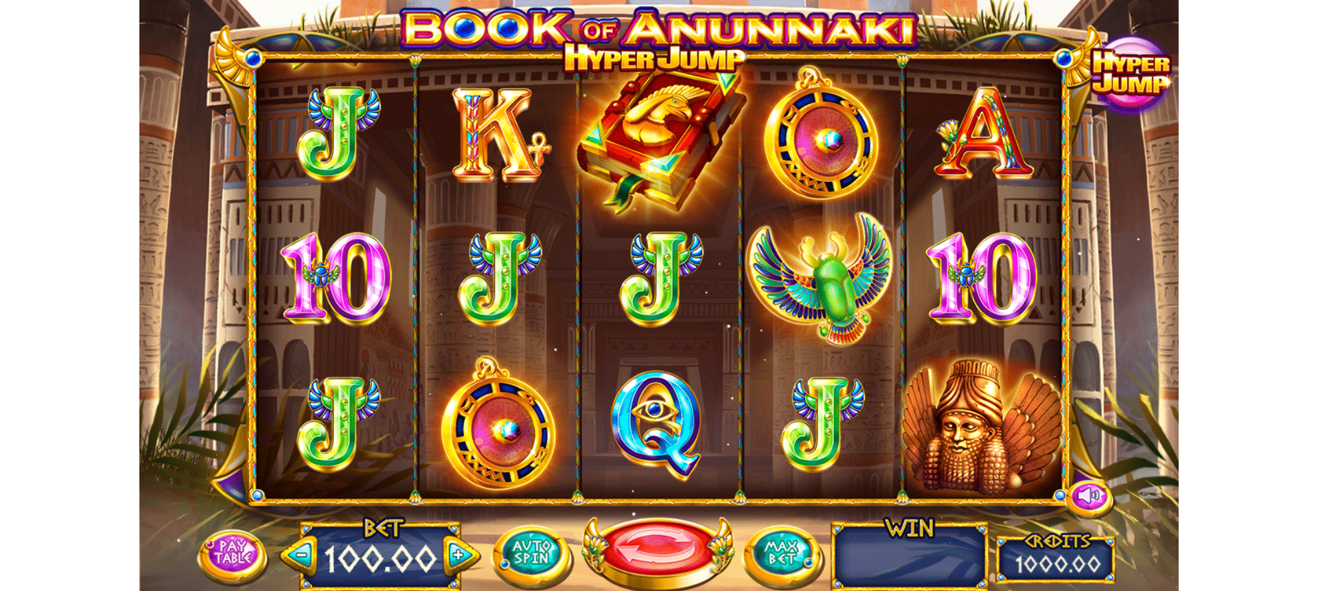 Slot Book of Anunnaki