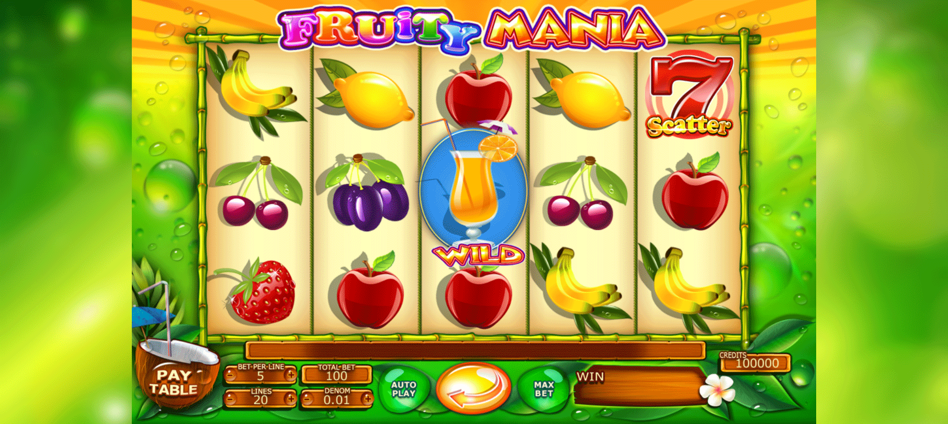 Slot Fruity Mania