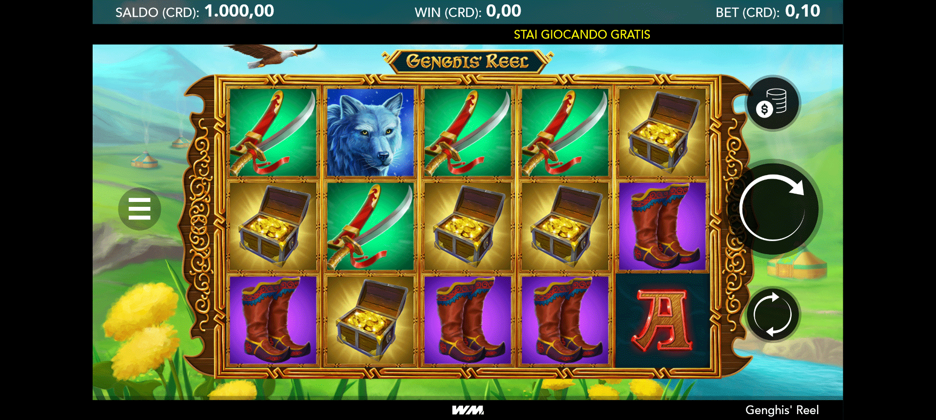Slot Genghis' Reel