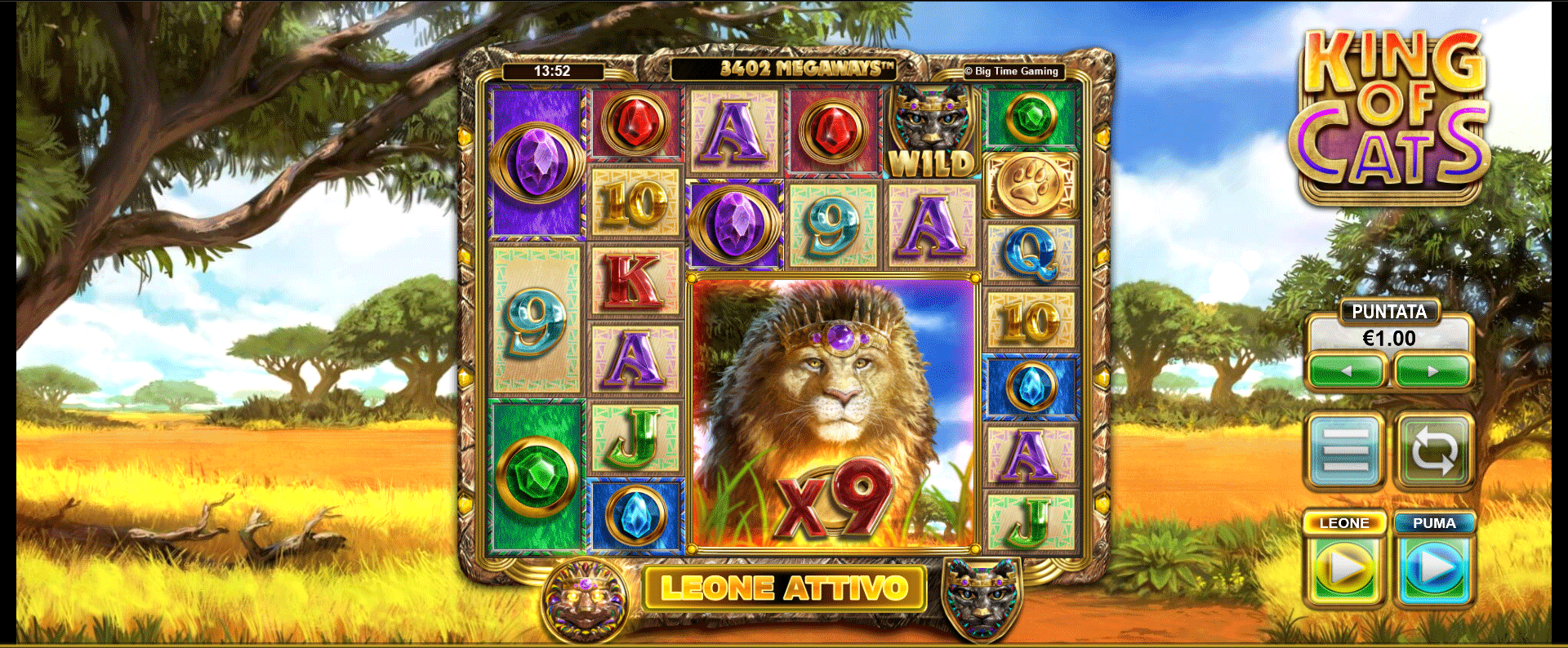 Slot King of Cats