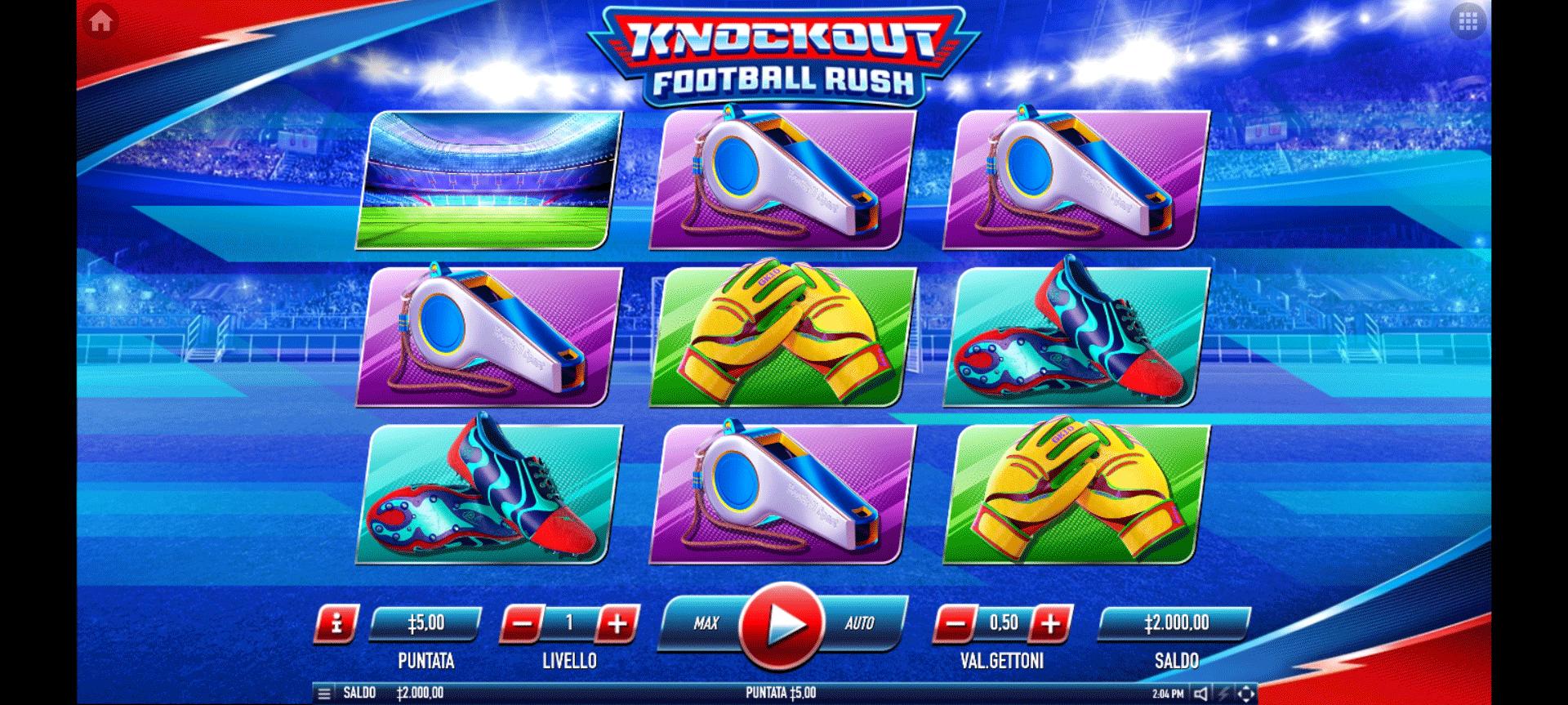 Slot Knockout Football Rush
