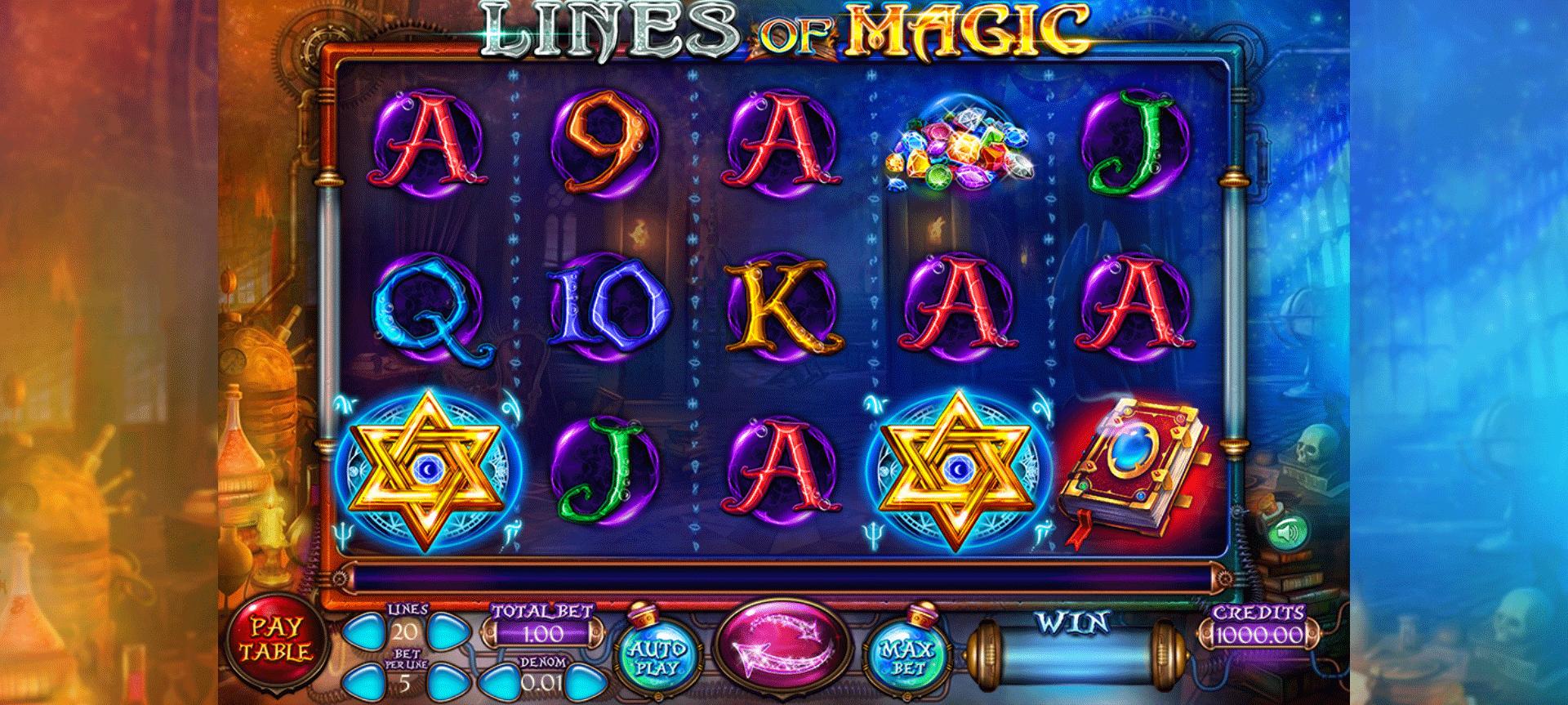 Slot Lines of Magic