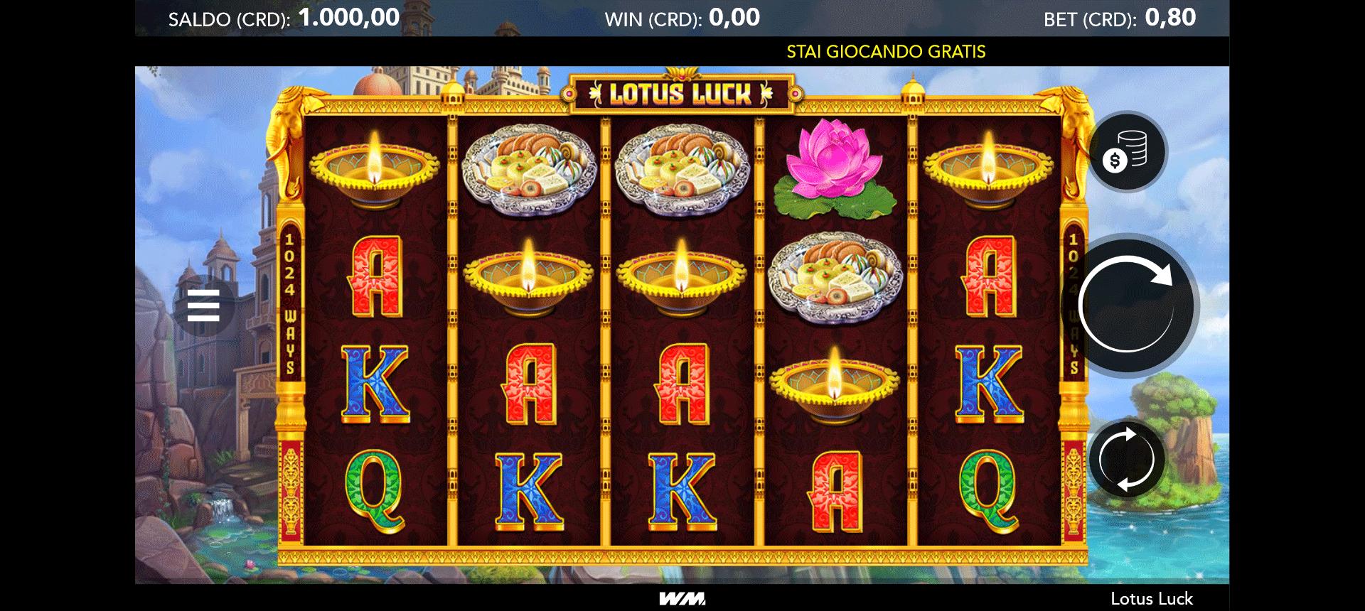 Slot Lotus Luck
