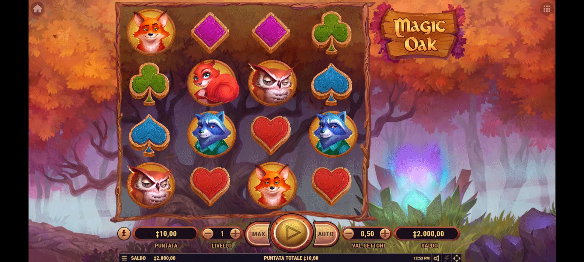 Slot Magic Oak