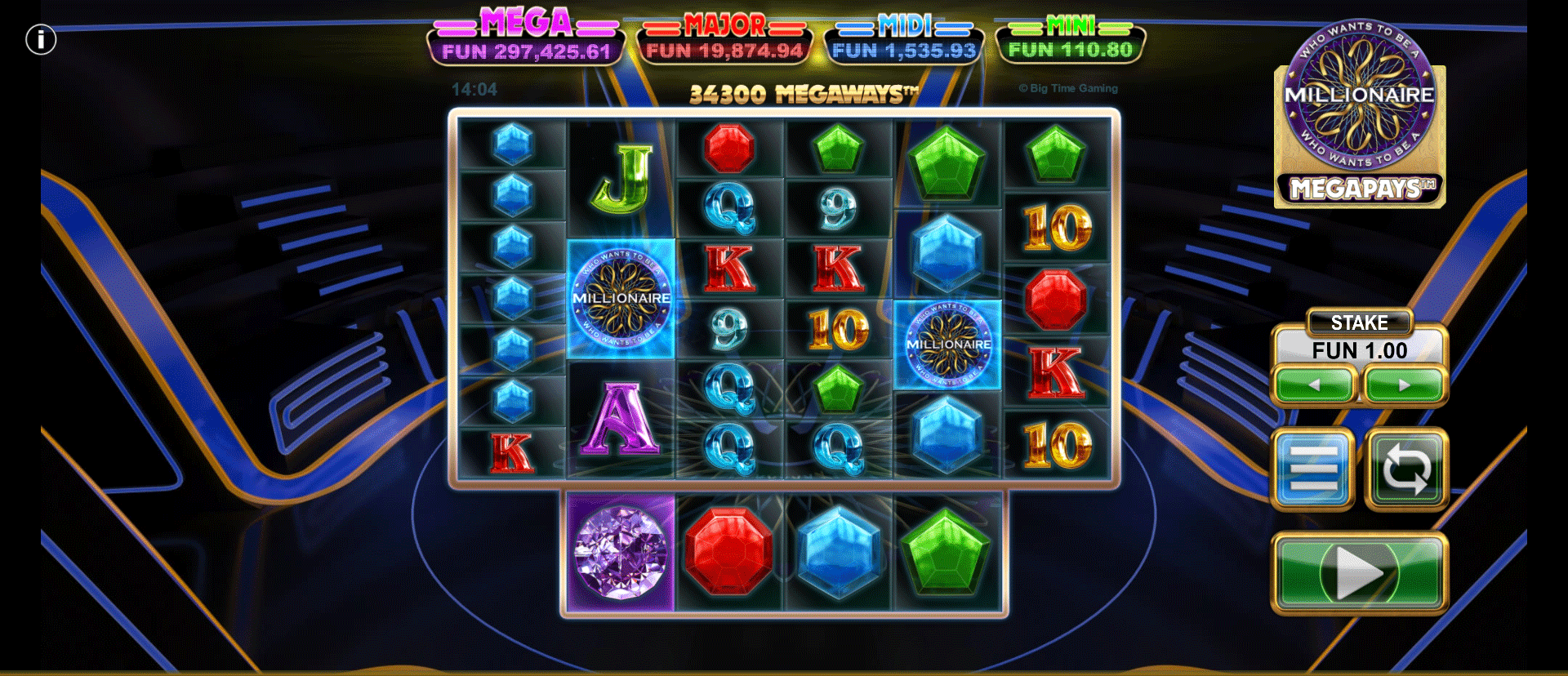 Slot Who Wants To Be A Millionaire Megapays
