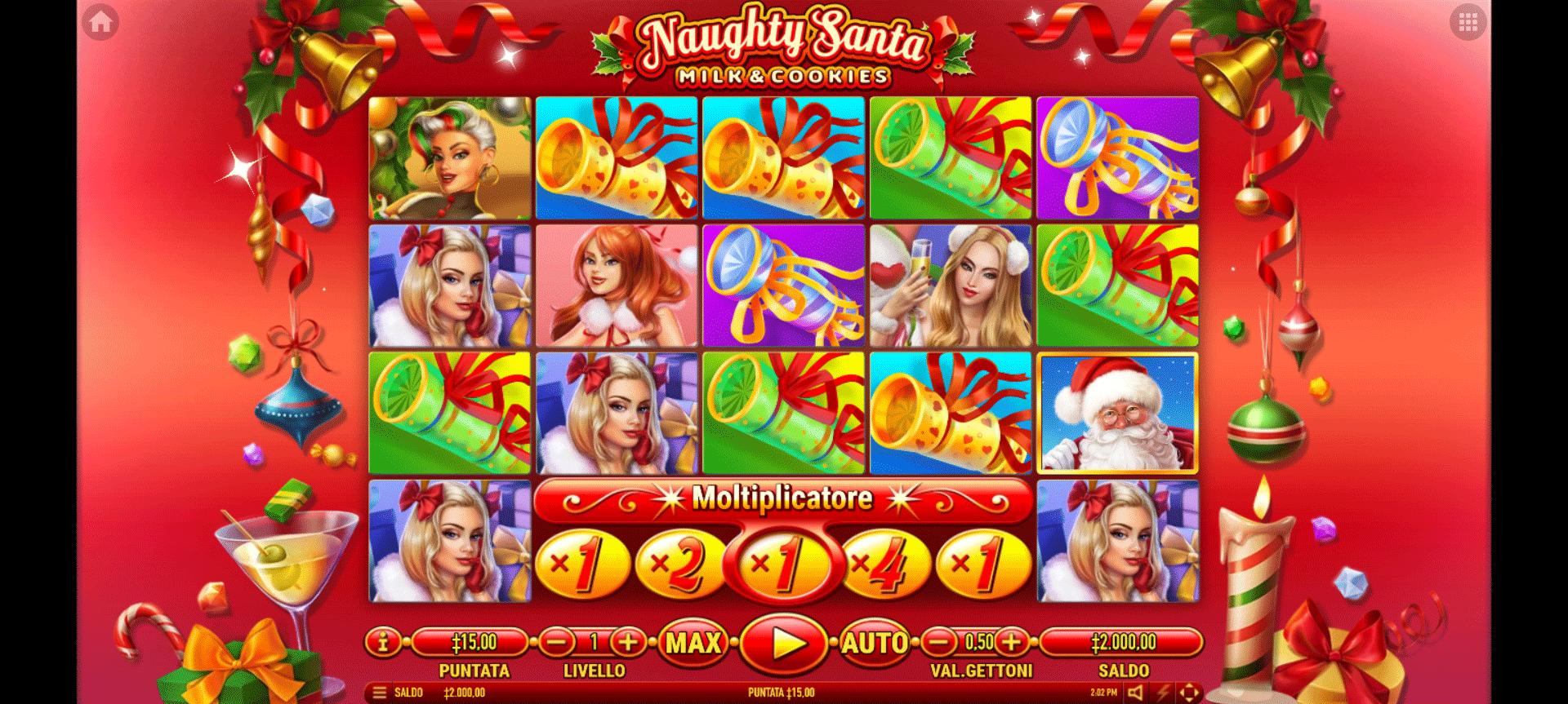 Slot Naughty Santa