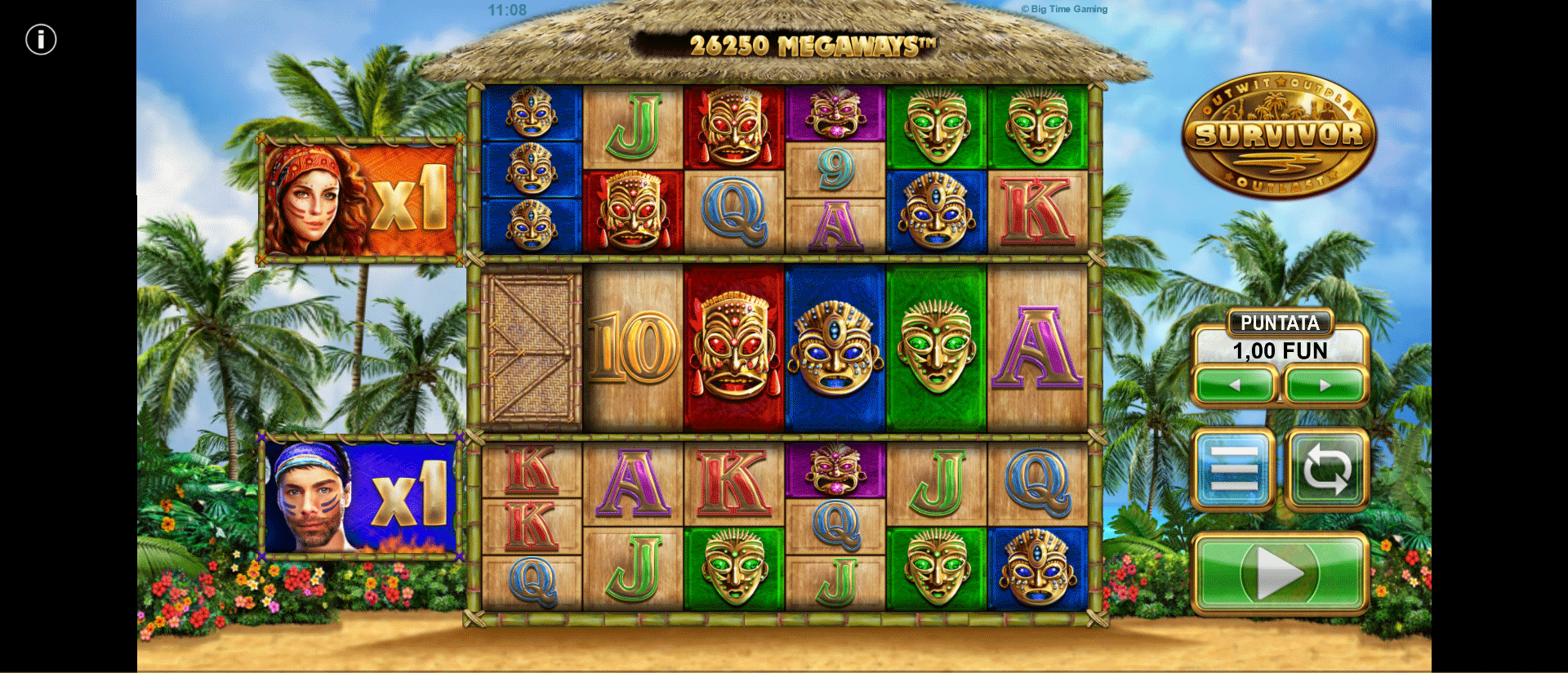 Slot Survivor Megaways