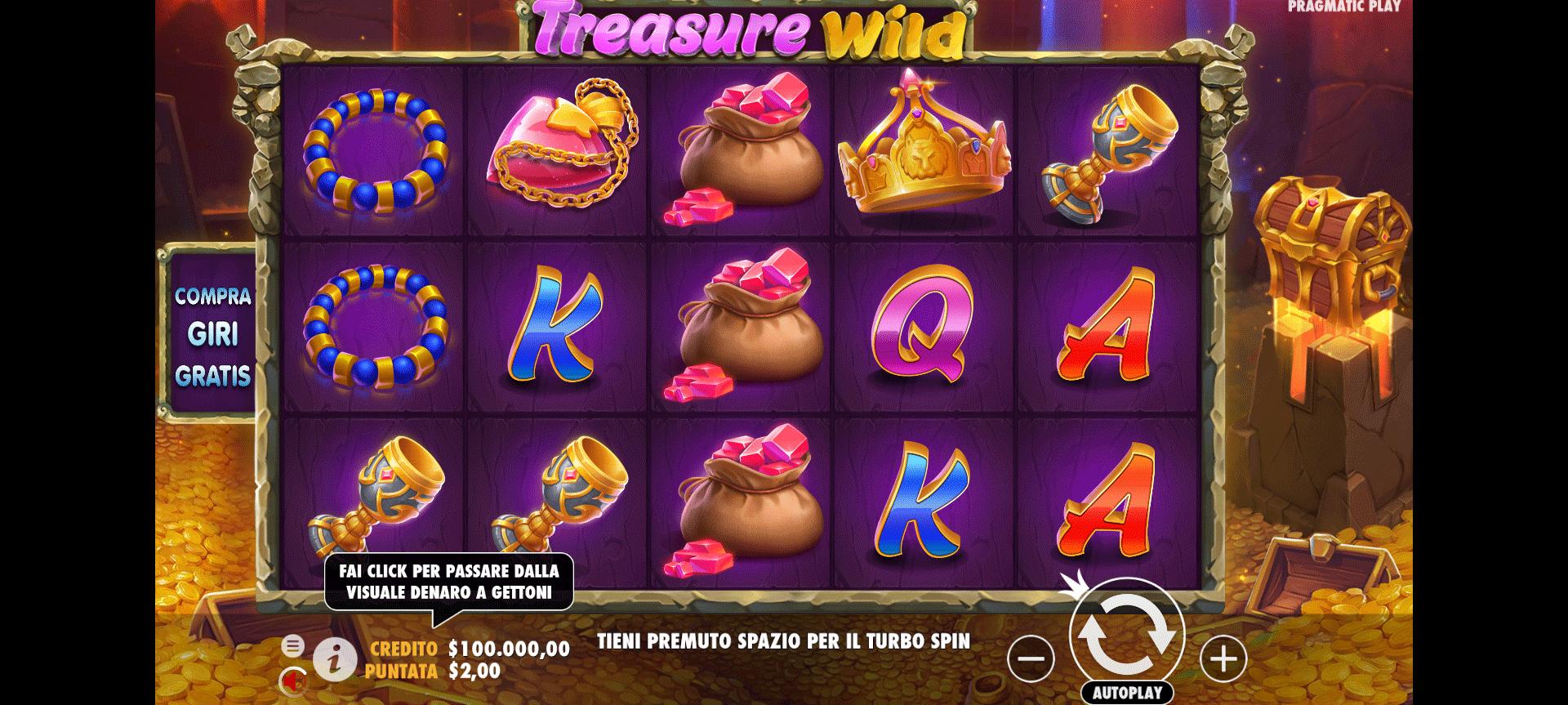 Slot Treasure Wild