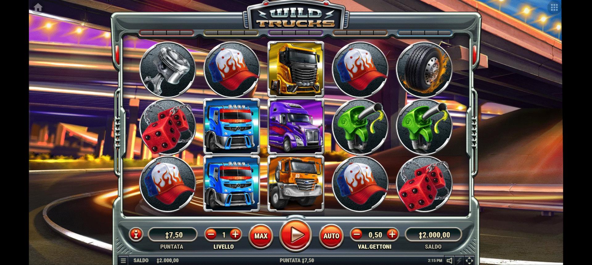 Slot Wild Trucks