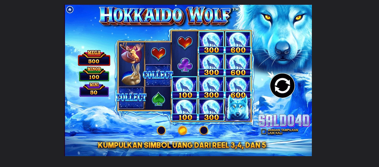 Slot Hokkaido Wolf